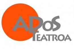 Logotipo de ADOS TEATROA