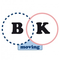 Logotipo de Bk Moving