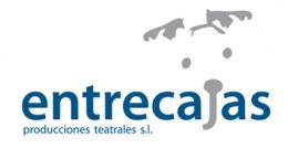 Logotipo de Entrecajas Producciones Teatrales