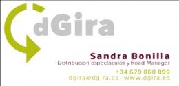 Logotipo de Dgira/Distribución de espectáculos