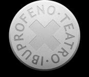 Logotipo de IBUPROFENO TEATRO