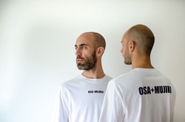 Logotipo de OSA+MUJIKA