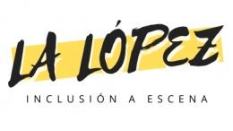 Logotipo de La López Inclusión a Escena
