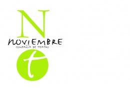 Logotipo de Noviembre Compañía de Teatro