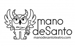 Logotipo de manodeSanto Teatro