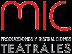 Logotipo de Mic producciones y distribuciones teatrales