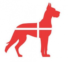 Logotipo de Perros daneses
