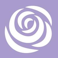 Logotipo de Rosazul Música