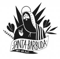 Logotipo de santa barbuda