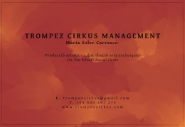 Logotipo de Trompez Cirkus Management