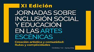Logotipo de Inclusión Social y Educación en las Artes Escénicas