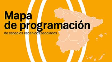 Logotipo de Mapa de programación de espacios escénicos asociados