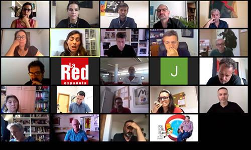 """Más de 130 profesionales de espacios y compañías participan en el encuentro online """"Prevenid@s, arriba telón"""""""