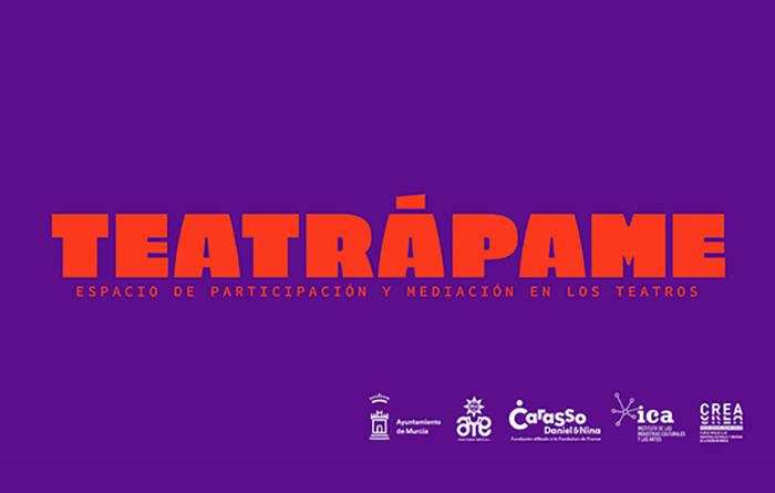 """""""Teatrápame"""", una iniciativa de los teatros municipales de Murcia y Aye Cultura Social para acercar a los jóvenes al teatro"""
