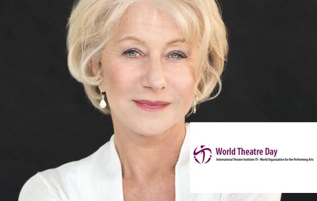 Mensaje del Día Mundial del Teatro 2021, por Hellen Mirren