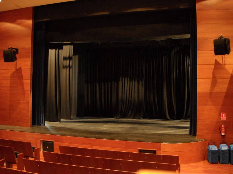 Teatre auditori can palots for Sala teatre murcia