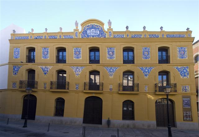 Teatro victoria for Calle prado 8 talavera dela reina