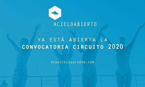 Se abre la convocatoria para participar en el Circuito Acieloabierto 2020
