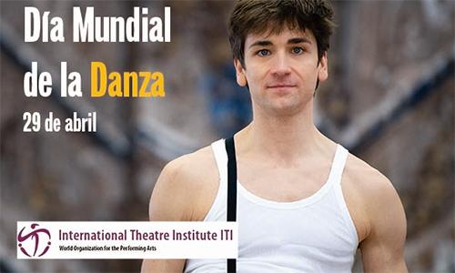 Mensaje del Día Mundial de la Danza 2021, a cargo del bailarín Friedemann Vogel
