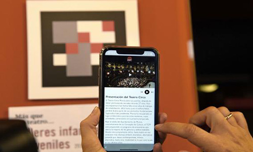 El Teatro Circo de Murcia, pionero en España en implantar un sistema de accesibilidad inteligente a través del móvil