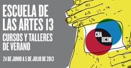 La  Escuela de las Artes 2013 de la Universidad Carlos III programa cursos y talleres de experimentación artística