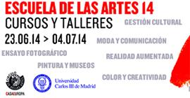 """Llega una nueva edición de la """"Escuela de las Artes"""", organizada por la Universidad Carlos III y el Círculo de Bellas Artes"""
