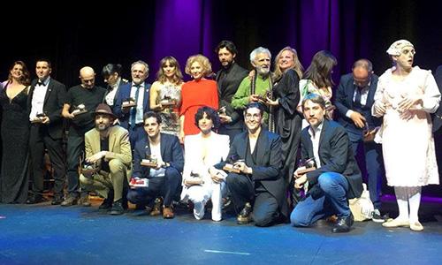 Laura Toledo y Juan Codina, ganadores de los 28º Premios Unión de Actores en la categoría de teatro