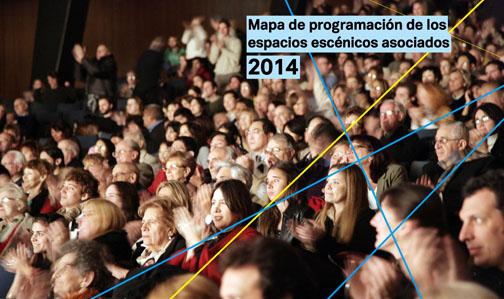 El Mapa de Programación 2014 revela un leve incremento del número de funciones en los espacios públicos