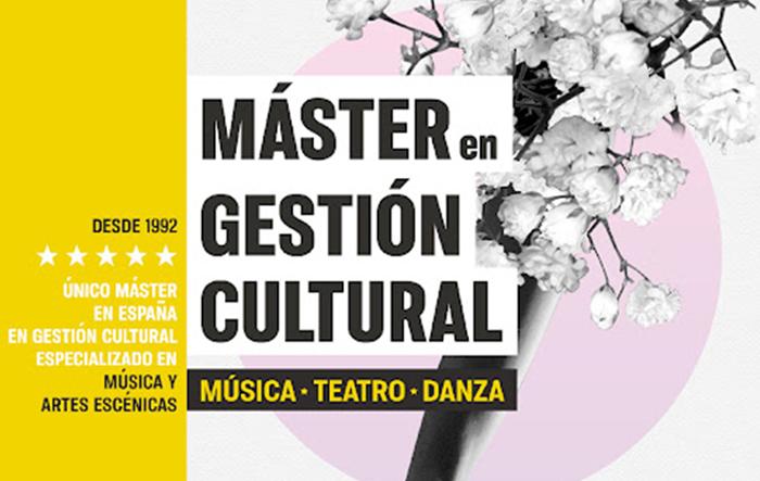 Abierta la Preinscripción para la 20ª promoción del Máster en Gestión Cultural ICCMU-UCM