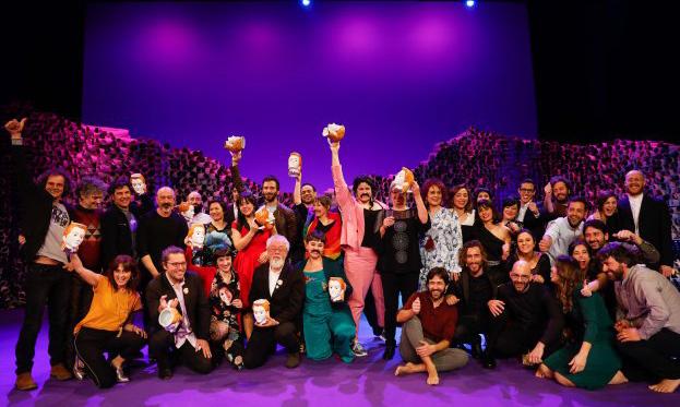 Los Premios de Teatro María Casares celebraron en el Teatro Rosalía de Castro su 22ª gala