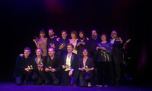 El Teatro Circo Price acoge la gala de entrega de la 29ª edición de los Premios de la Unión de Actores y Actrices