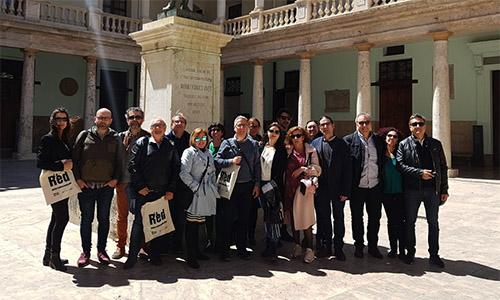 La Junta Directiva se reúne en Valencia con los asociados de la región y con gestores de espacios escénicos públicos