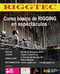 Abierto el periodo de inscripción para el curso sobre Técnicas Básicas de Rigging