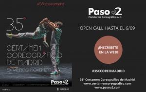 Convocatoria del 35º Certamen Coreográfico de Madrid para creadores/as con residencia en España