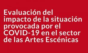 Evaluación del impacto de la situación provocada por el COVID-19 en el sector de las Artes Escénicas