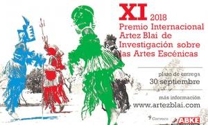 Abierta, hasta el 30 de septiembre, la convocatoria del Premio Internacional ARTEZ BLAI 2018