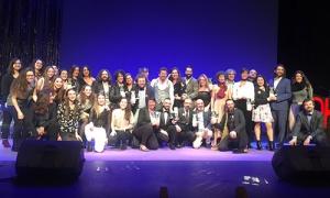 El Teatro Jovellanos acogió la entrega de la 10ª edición de los Premios Oh! de Asturias