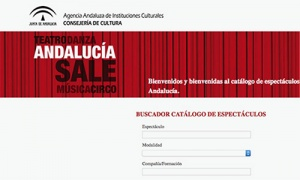 La Junta de Andalucía crea un catálogo de espectáculos on line para promocionar a compañías y artistas andaluces