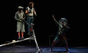 """""""El viaje de Ulises"""", de la compañía vizcaína Teatro Gorakada, Premio FETEN al Mejor Espectáculo 2019"""