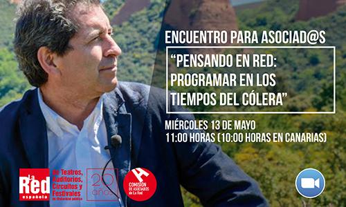 Miguel Ángel Varela será el anfitrión del próximo encuentro para asociad@s, el miércoles 13 de mayo