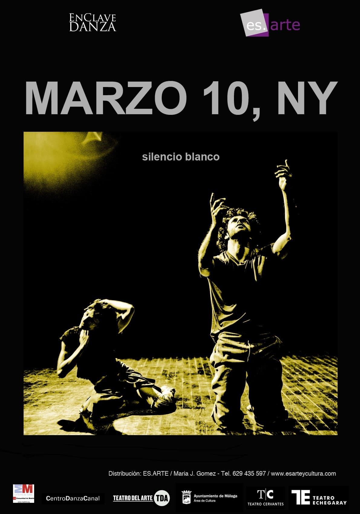 MARZO 10, NY - Silencio Blanco
