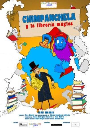 Chimpanchela y la librería mágica
