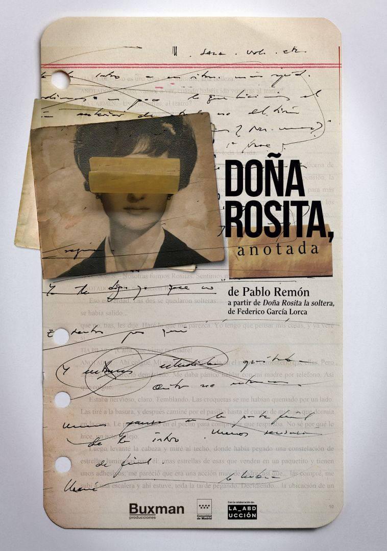 Doña Rosita, anotada