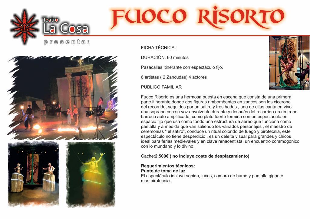 FUOCO RISORTO