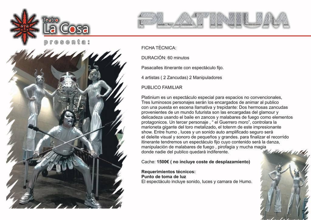 PLATINIUM- UN VIAJE AL FUTURO