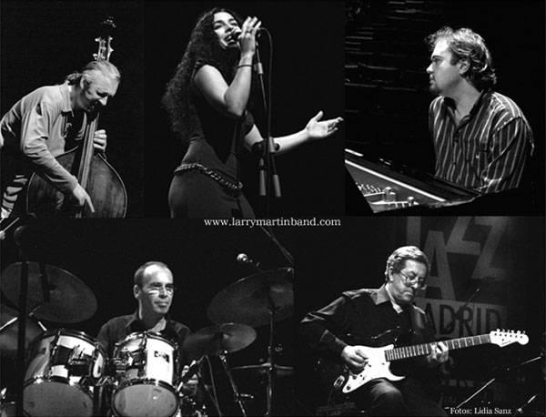 Larry martin band concierto de jazz blues for Conciertos jazz madrid