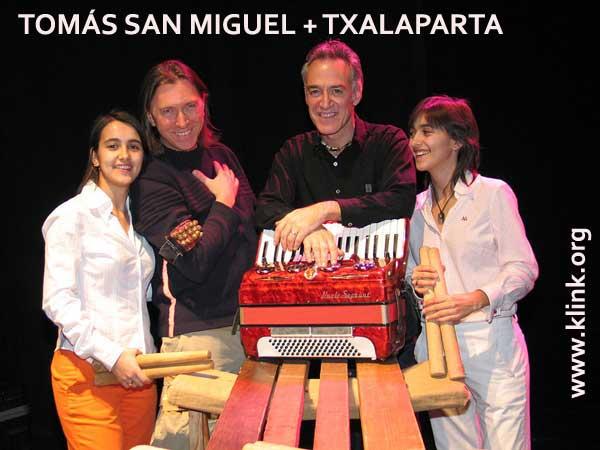 Tomás San Miguel + Txalaparta